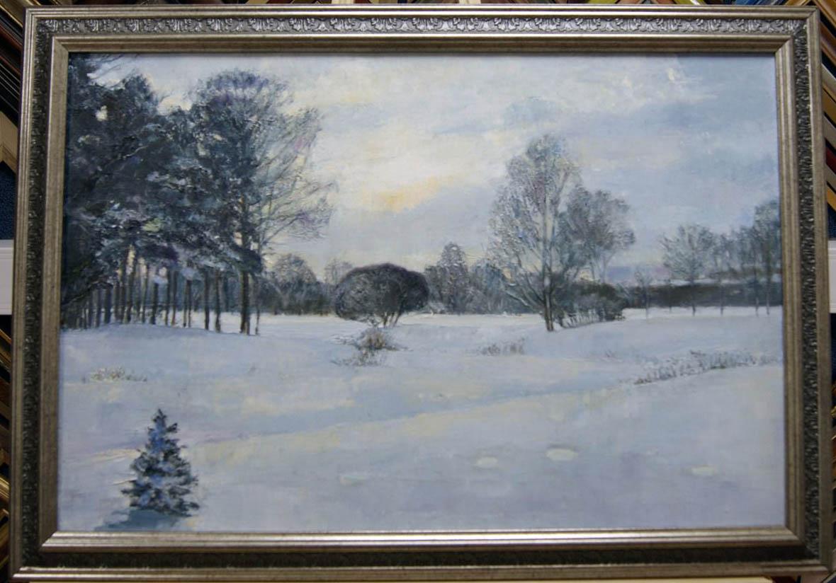 Парк Александрино зимой